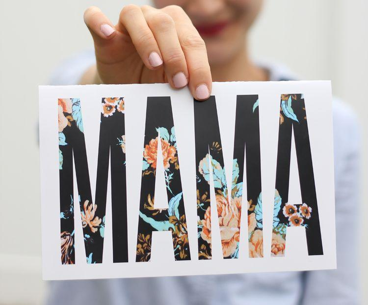 """<p>Simple, graphic lettering filled in with a striking floral pattern is just right for the mom who is bold and beautiful herself. We suggest a pretty peach or turquoise envelope for the most special delivery.</p><p><strong>Get the printable at <a href=""""https://www.deliacreates.com/mothers-day-cards-free-printables/"""" rel=""""nofollow noopener"""" target=""""_blank"""" data-ylk=""""slk:Delia Creates"""" class=""""link rapid-noclick-resp"""">Delia Creates</a>.</strong></p><p><a class=""""link rapid-noclick-resp"""" href=""""https://www.amazon.com/LUXPaper-Invitation-Envelopes-Printable-Invitations/dp/B00JELFDJE/?tag=syn-yahoo-20&ascsubtag=%5Bartid%7C10050.g.3195%5Bsrc%7Cyahoo-us"""" rel=""""nofollow noopener"""" target=""""_blank"""" data-ylk=""""slk:SHOP TURQUOISE ENVELOPES"""">SHOP TURQUOISE ENVELOPES</a><br></p>"""