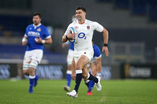 Youngs scored two tries at the Stadio Olimpico