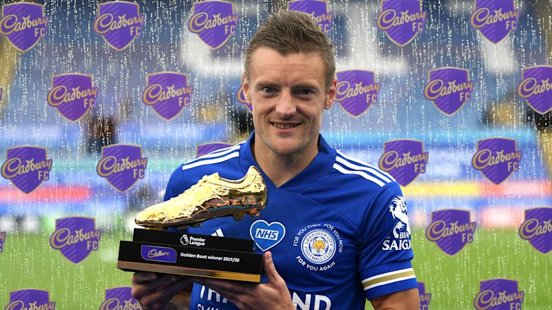 Vardy becomes oldest Golden Boot winner after holding off Aubameyang and Ings