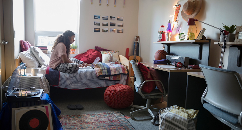 Yes, it's possible to make a cookie-cutter dorm feel unique.