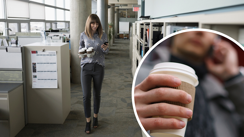 This is what your coffee run is doing to you productivity. (Source: Getty)