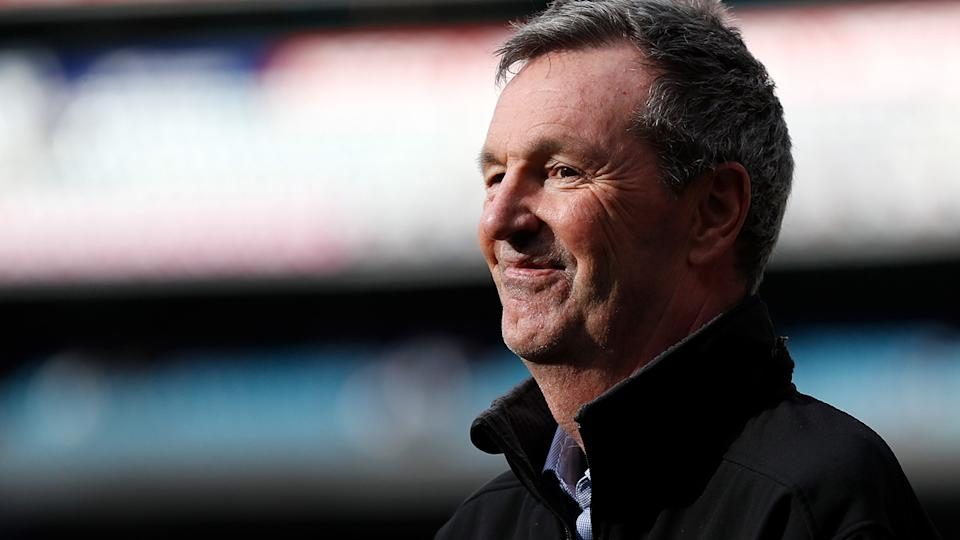 Since being diagnosed with motor neurone disease, Neale Daniher has become a tireless campaigner for research into the affliction. (Photo by Michael Willson/AFL Photos via Getty Images)