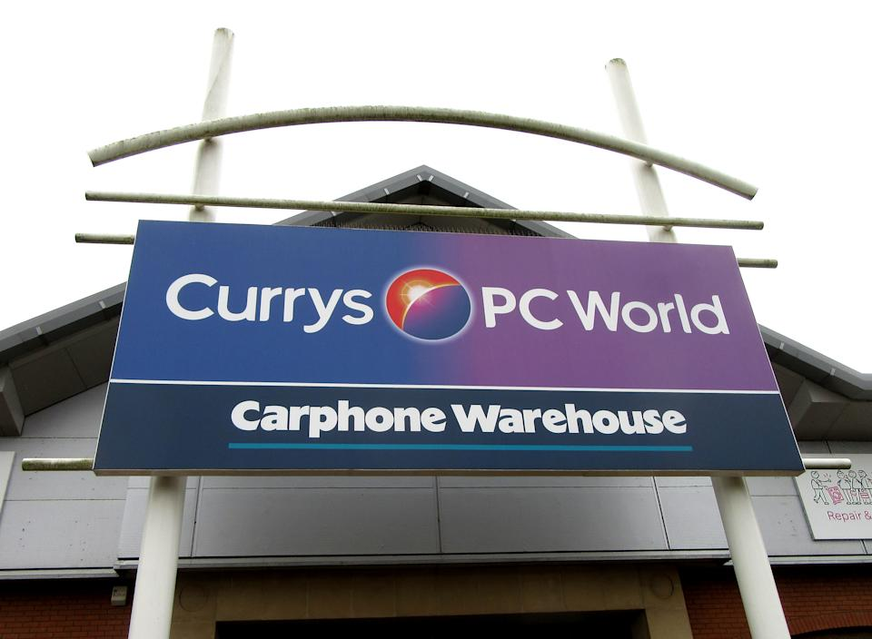 -, UNITED KINGDOM - 2020/03/04: Currys Pc World stores an Electrical and computer retailer closed. (Photo by Keith Mayhew/SOPA Images/LightRocket via Getty Images)