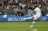 <p>Trippier lined up his free-kick… </p>