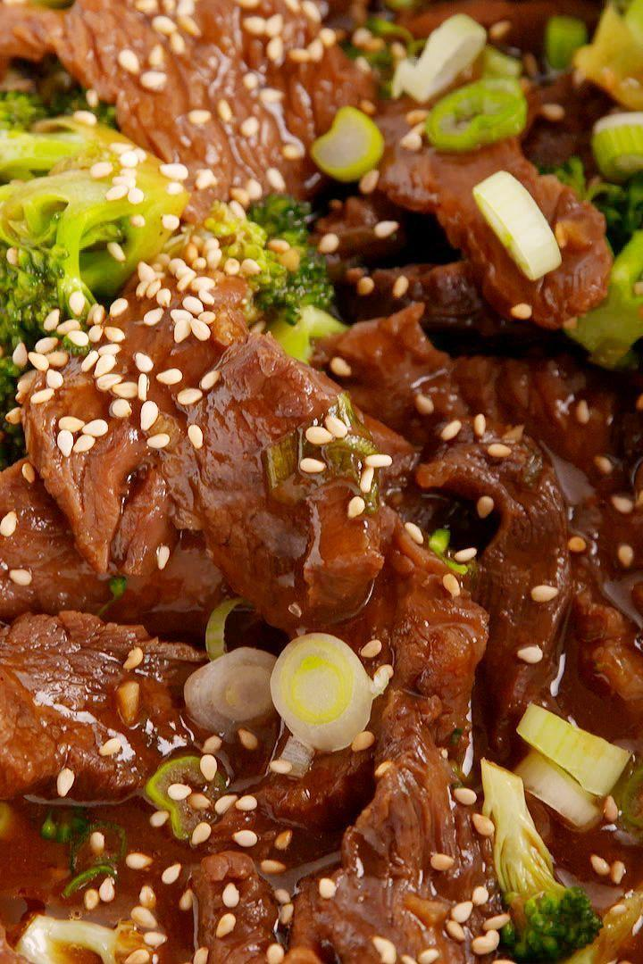 """<p>The tender beef melts in your mouth.</p><p>Get the <a href=""""https://www.delish.com/uk/cooking/recipes/a29029747/slow-cooker-beef-broccoli-recipe/"""" rel=""""nofollow noopener"""" target=""""_blank"""" data-ylk=""""slk:Slow Cooker Beef & Broccoli"""" class=""""link rapid-noclick-resp"""">Slow Cooker Beef & Broccoli</a> recipe.</p>"""