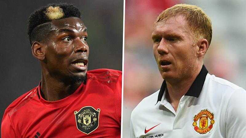 Pogba made a 'monster' by Giggs & Scholes kicking him in Man Utd training