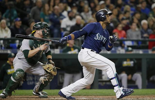 <p>Every time the Blue Jays visit Seattle it's a treat to watch the fans from British Columbia flood Safeco Field and make it their own. (AP) </p>