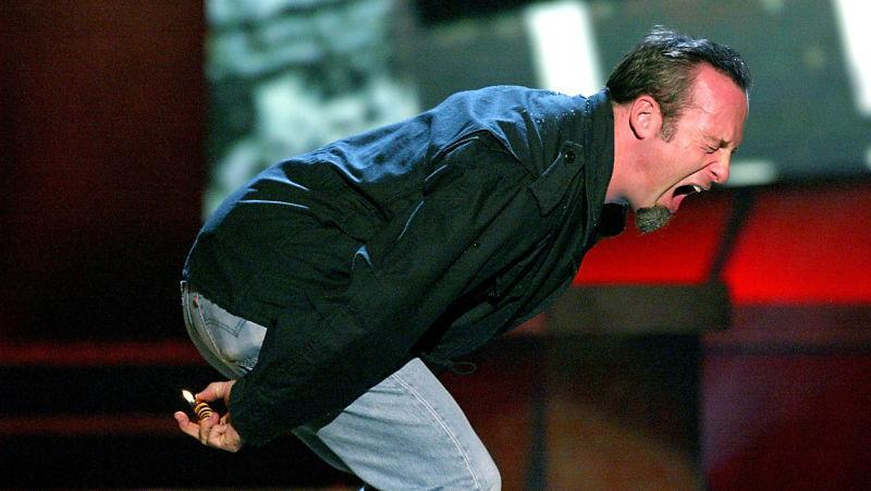 Multiple Emmy-nominee Bob Odenkirk, practicing his craft in 2003.