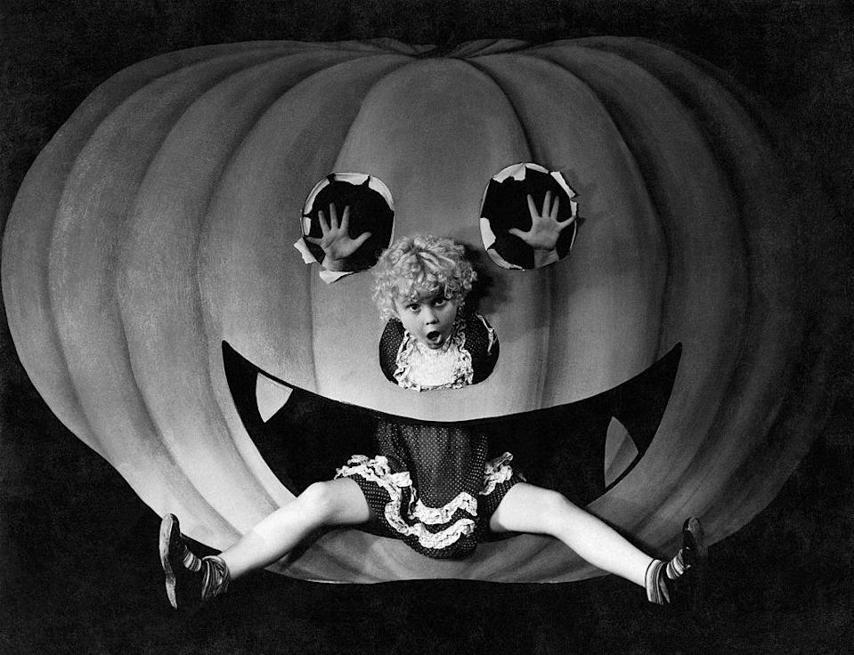 """<p>The first known printed reference to """"trick-or-treat"""" appeared in the Alberta Canada Herald on Nov. 4, 1927, according to <a href=""""http://www.smithsonianmag.com/smart-news/the-history-of-trick-or-treating-is-weirder-than-you-thought-79408373/?no-ist"""" rel=""""nofollow noopener"""" target=""""_blank"""" data-ylk=""""slk:Smithsonian"""" class=""""link rapid-noclick-resp""""><em>Smithsonian</em></a>. </p>"""