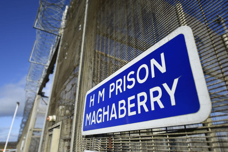 Embargoed to 0001 on Tuesday November 27 Previously unissued photo dated 19/11/2018 of Maghaberry Prison, as the prison once branded dangerous and Dickensian has made immensely encouraging progress, a report has said.