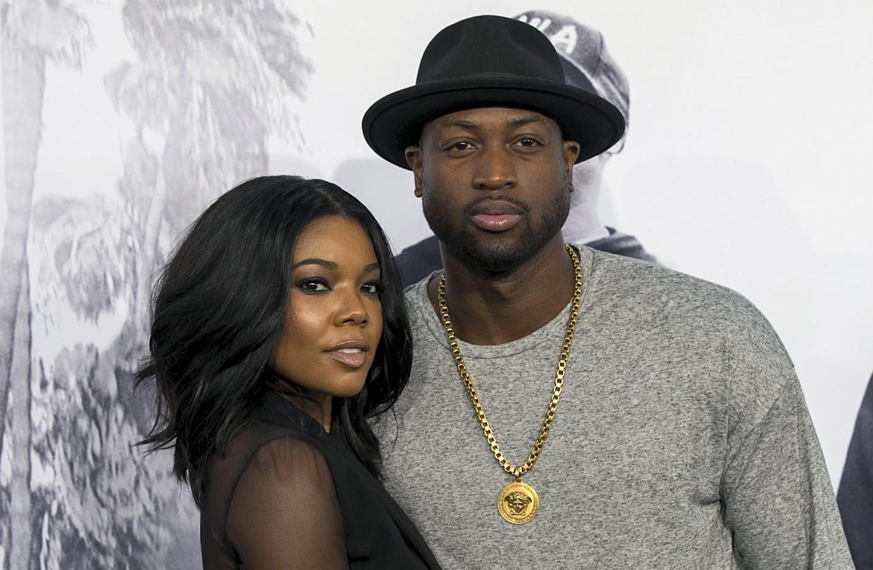 Dwyane Wade is speaking out after a family photo shared by wife Gabrielle Union drew criticism. (Photo: REUTERS/Mario Anzuoni)