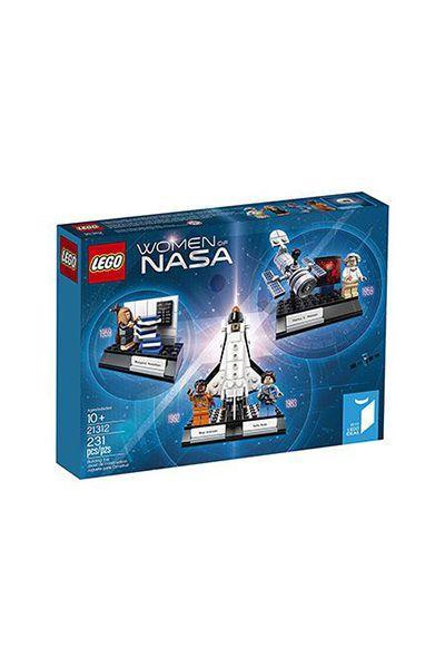 """<p>$20 for 231 pieces</p><p><a rel=""""nofollow noopener"""" href=""""https://www.amazon.com/LEGO-Ideas-Women-21312-Building/dp/B071W77MBJ/ref=sr_1_1"""" target=""""_blank"""" data-ylk=""""slk:SHOP NOW"""" class=""""link rapid-noclick-resp"""">SHOP NOW</a><br></p><p>Not only will this LEGO set satisfy the recipient's interest in space, but it also honors female NASA scientists Nancy Grace Roman, Margaret Hamilton, Sally Ride, and Mae Jemison. </p>"""
