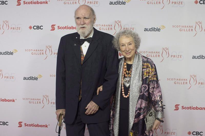 Canadian author Graeme Gibson, partner of Margaret Atwood, dies at age 85