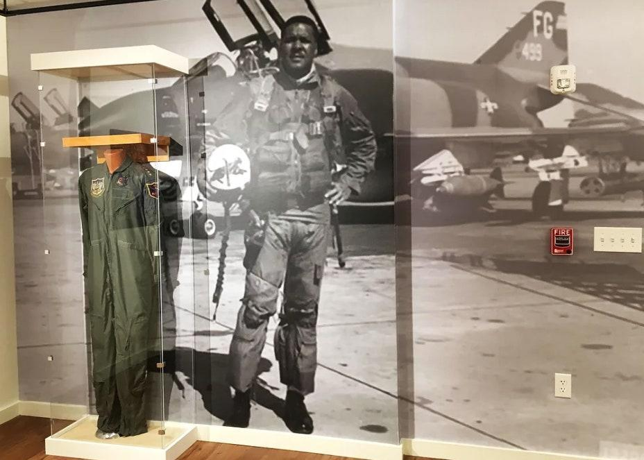 """<p>United States Air Force General Daniel """"Chappie"""" James Jr. was a Tuskegee Airman and made history as the first African American to become a four-star general in any branch of the military. <a href=""""https://www.chappiejamesmuseum.org/"""" rel=""""nofollow noopener"""" target=""""_blank"""" data-ylk=""""slk:The museum"""" class=""""link rapid-noclick-resp"""">The museum</a> is in the same location as the house where Chappie grew up. This site, now in the U.S. Historic Register, is where his mother ran the Miss Lillie James School, and an important part of the Black community. The collection includes photos, memorabilia, and interactive and hands-on exhibits.</p> <p>""""History in public schools has declined to the point that children are unable to identify the historical value of many contributors to the American success stories—that are not Anglos—such as the Tuskegee Airmen and General Daniel 'Chappie' James Jr.,"""" says Ellis Jones, president of the museum's board. """"Children aren't reading about them in their textbooks.""""</p>"""