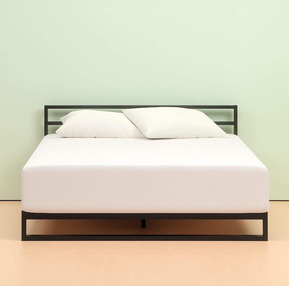 "<p>This <a href=""https://www.popsugar.com/buy/Zinus%20Memory%20Foam%2012-Inch%20Green%20Tea%20Mattress-424469?p_name=Zinus%20Memory%20Foam%2012-Inch%20Green%20Tea%20Mattress&retailer=amazon.com&price=295&evar1=casa%3Aus&evar9=45937881&evar98=https%3A%2F%2Fwww.popsugar.com%2Fhome%2Fphoto-gallery%2F45937881%2Fimage%2F45937909%2FZinus-Memory-Foam-12-Inch-Green-Tea-Mattress&list1=shopping%2Cfurniture%2Cmattresses%2Cbedrooms%2Chome%20shopping&prop13=api&pdata=1"" rel=""nofollow"" data-shoppable-link=""1"" target=""_blank"" class=""ga-track"" data-ga-category=""Related"" data-ga-label=""https://www.amazon.com/Zinus-Memory-Green-Mattress-Queen/dp/B00Q7EPLM0/ref=sr_1_3?keywords=mattress%2Bunder%2B400&amp;qid=1552680391&amp;s=gateway&amp;sr=8-3&amp;tag=popsugarshopx-20&amp;th=1"" data-ga-action=""In-Line Links"">Zinus Memory Foam 12-Inch Green Tea Mattress</a> ($295) is available in three other thicknesses.</p>"