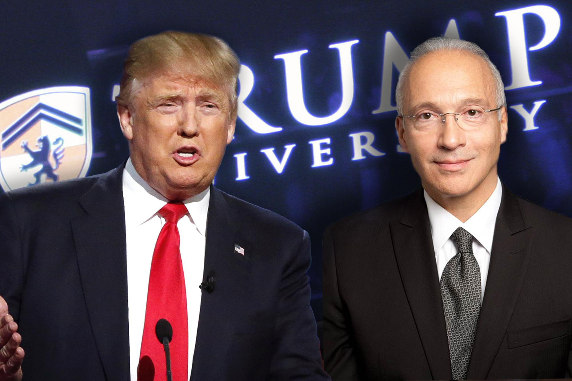 Donald Trump and Judge Gonzalo Curiel
