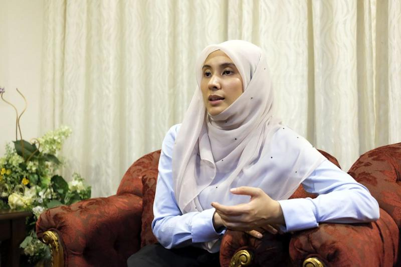 Nurul Izzah said PKR can only remain relevant in the eyes of the rakyat so long as it is capable of bringing about solutions of reform. — Picture by Yusof Mat Isa