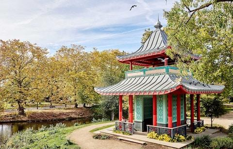 Chinese Pagoda, Victoria Park - Credit: Getty