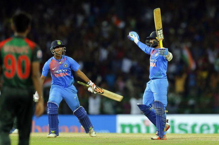 Dinesh Karthik's 29 off 8 gave India one of their best T20I wins in 2018