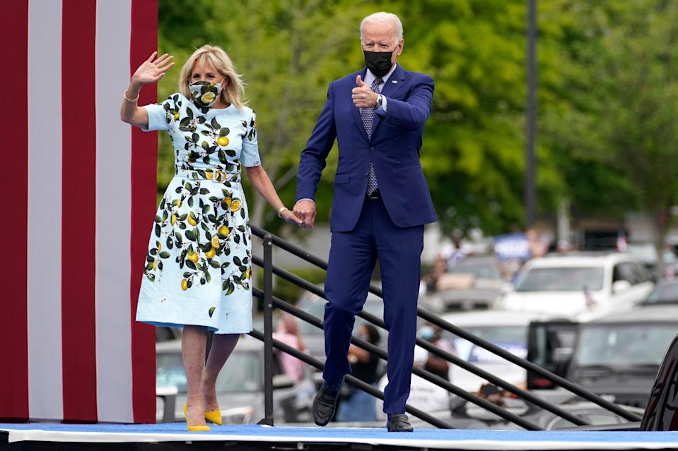 <p>President Joe Biden recently marked his 100th day in office</p> (AP)