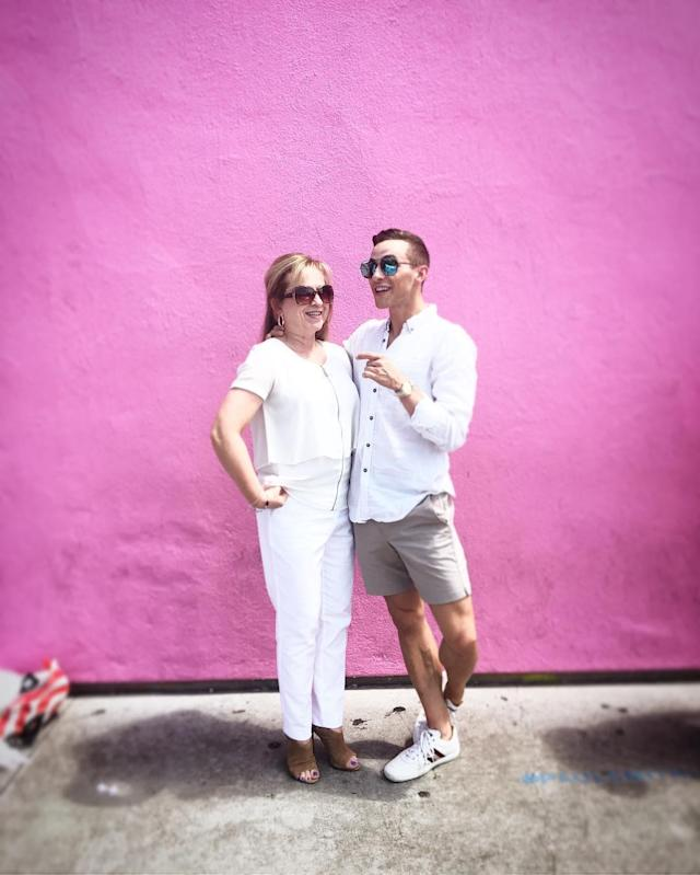<p>Adam Rippon credits his mother, who raised six kids as a single mom, with helping him make the Olympic team. (Instagram   @adaripp ) </p>