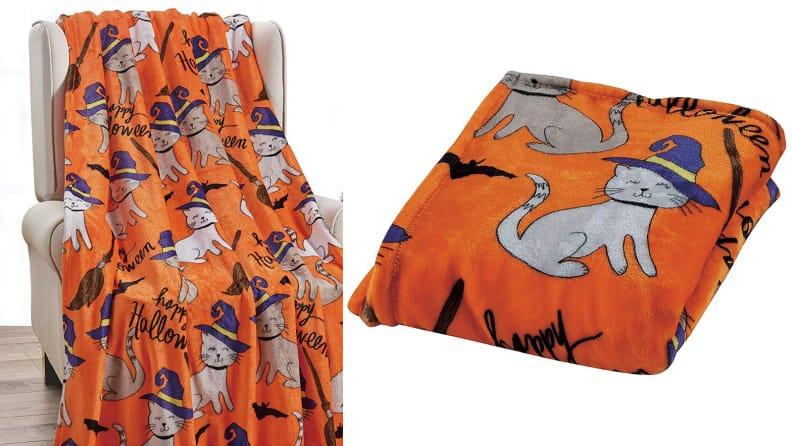 Snuggle up with this blanket next time you watch a scary movie.