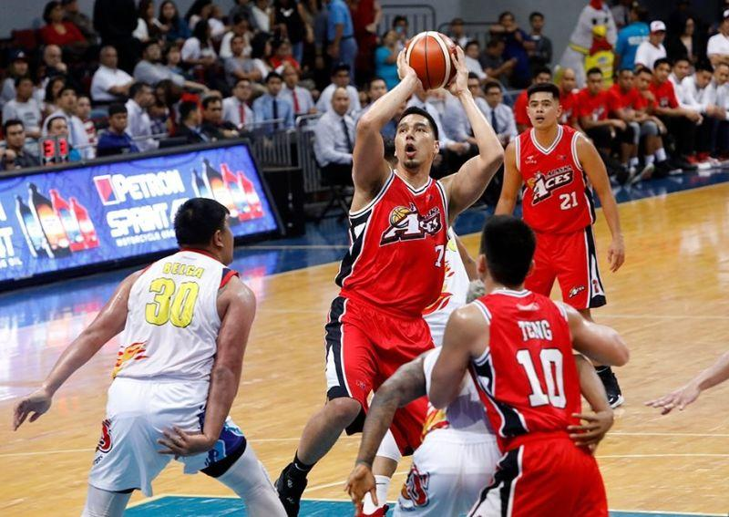 Cebuano big man Sonny Thoss says he hasn't retired