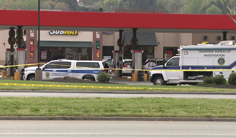 A truck driver stabbed four women at a Pilot Travel Centre near Knoxville, Tennessee, before being shot by a law enforcement officer. Three of the victims died at the scene: WBIR