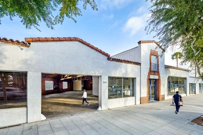 The site of Hauser & Wirth West Hollywood, which plans to open its doors in Fall 2022.