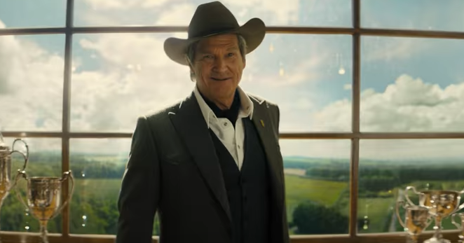 Jeff Bridges in his old Kentucky home for 'Kingsman: the Golden Circle'