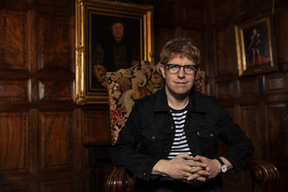 WARNING: Embargoed for publication until 00:00:01 on 05/10/2021 - Programme Name: Who Do You Think You Are? S18 - TX: n/a - Episode: Who Do You Think You Are? S18 - Josh Widdicombe (No. Josh Widdicombe) - Picture Shows: at Hever Castle & Gardens, Edenbridge.  **STRICTLY EMBARGOED NOT FOR PUBLICATION UNTIL 00:01 HRS ON TUESDAY 5TH OCTOBER 2021** Josh Widdicombe - (C) Wall to Wall Media Ltd - Photographer: Stephen Perry
