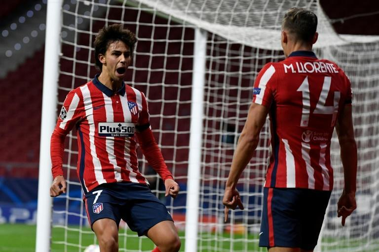 Atletico Madrid's Joao Felix scored his eighth goal of the season in Tuesday's draw with Bayern Munich