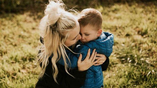 PHOTO: Caitlin Fladager and her four-year-old son. (Caitlin Fladager)