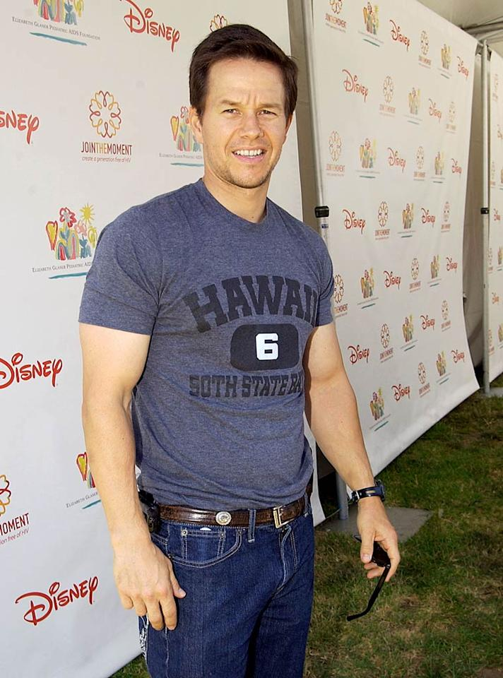 """Famous for the rippling six pack he sported in his early '90s Calvin Klein underwear ads, Mark Wahlberg is the latest in a long line of celebs to let it all go for a film role. Mike Guastella/<a href=""""http://www.wireimage.com"""" target=""""new"""">WireImage.com</a> - June 7, 2009"""