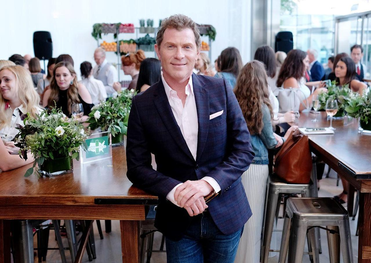 """<p>Manhattan-born <a href=""""https://www.thedailymeal.com/free-tagging-cuisine/bobby-flay?referrer=yahoo&category=beauty_food&include_utm=1&utm_medium=referral&utm_source=yahoo&utm_campaign=feed"""">Bobby Flay </a>has been a mainstay on Food Network since 1999, when """"Hot off the Grill with Bobby Flay"""" premiered. Since then, he's appeared on nearly two dozen more Food Network shows, most recently """"The Flay List,"""" <a href=""""https://www.thedailymeal.com/bobby-flay-daughter-sophie-food-network/120718?referrer=yahoo&category=beauty_food&include_utm=1&utm_medium=referral&utm_source=yahoo&utm_campaign=feed"""">in which he eats his way through New York with his daughter, Sophie</a>. Flay is also really into horse racing. He owns several thoroughbred horses, many of whom have participated in Triple Crown races.</p>"""