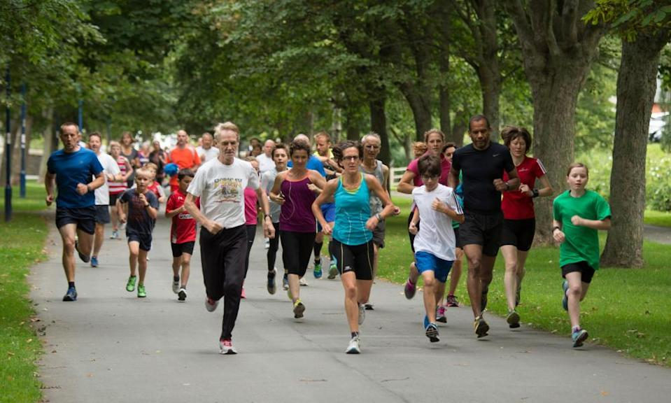 Parkruns … people brought together by something shared.