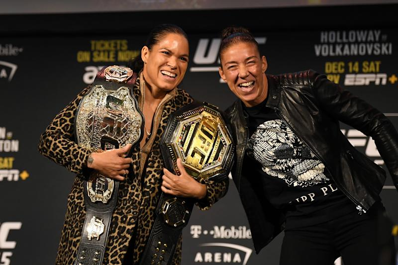 UFC champ Amanda Nunes doesn't care she's not the main event