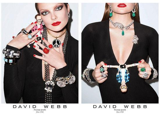 Carine Roitfeld and Terry Richardson have combined their potent creative juices for the new David Webb jewellery collection.