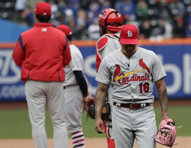 It's been a mixed bag for the Cardinals to open the 2018 season. (AP Photo/Frank Franklin II)
