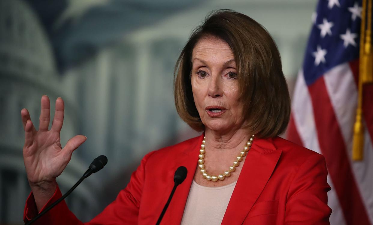 House Minority Leader Nancy Pelosi (D-Calif.) said Democrats are not going to push to impeach Brett Kavanaugh if they retake the majority in the midterm elections. (Photo: Mark Wilson/Getty Images)