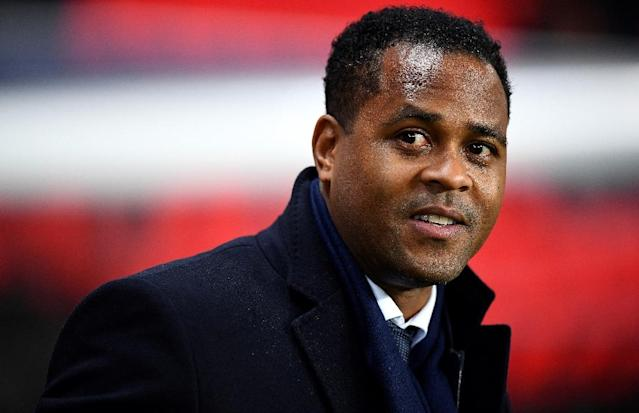 PSG's football director Patrick Kluivert pictured in Paris in 2016 (AFP Photo/FRANCK FIFE)