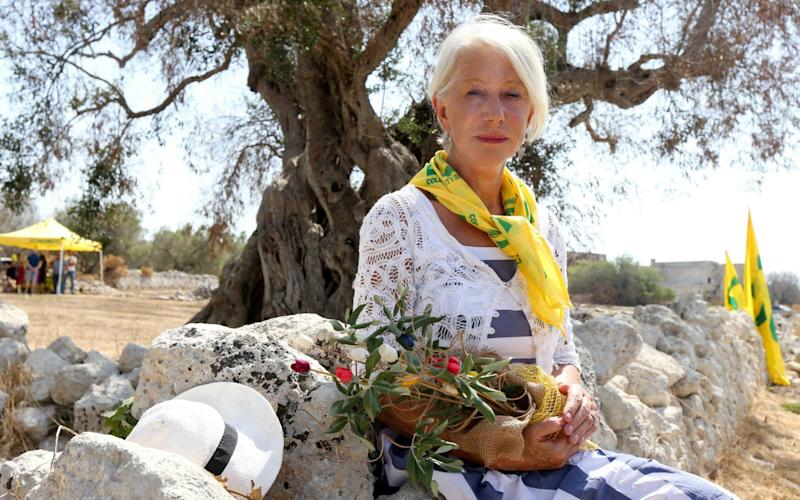 Helen Mirren has joined forces with the RHS - Vantage News Limited