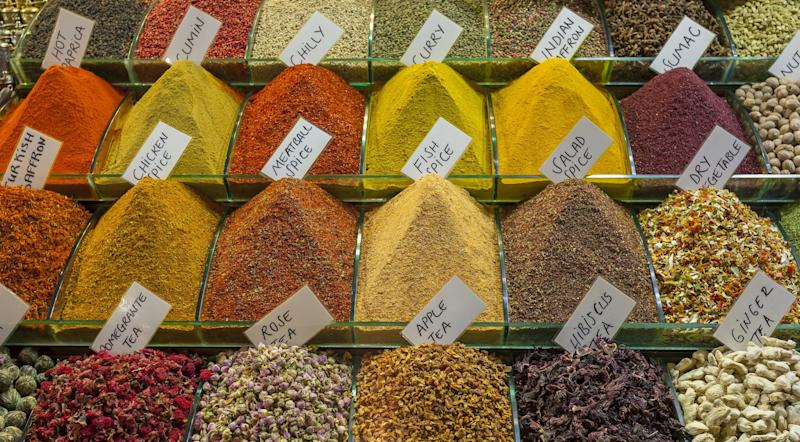 Guests will be able to stroll through Istanbul's aromatic spice market.