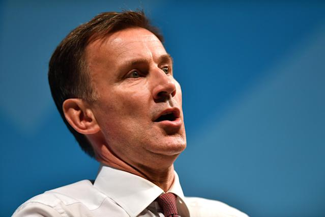 Former health secretary Jeremy Hunt has criticised the government's measures to tackle the spread of coronavirus, saying they don't go far enough. (Picture: PA)
