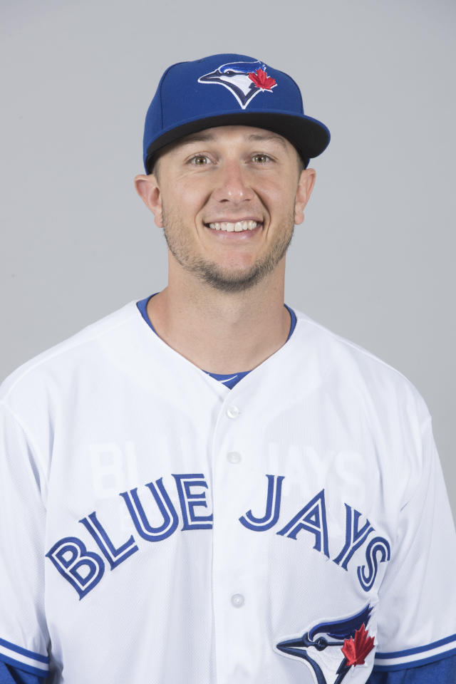This is a 2018 photo of Troy Tulowitzki of the Toronto Blue Jays baseball team. This image reflects the 2018 active roster as of Thursday, Feb. 22, when this image was taken. (AP Photo/John Minchillo)