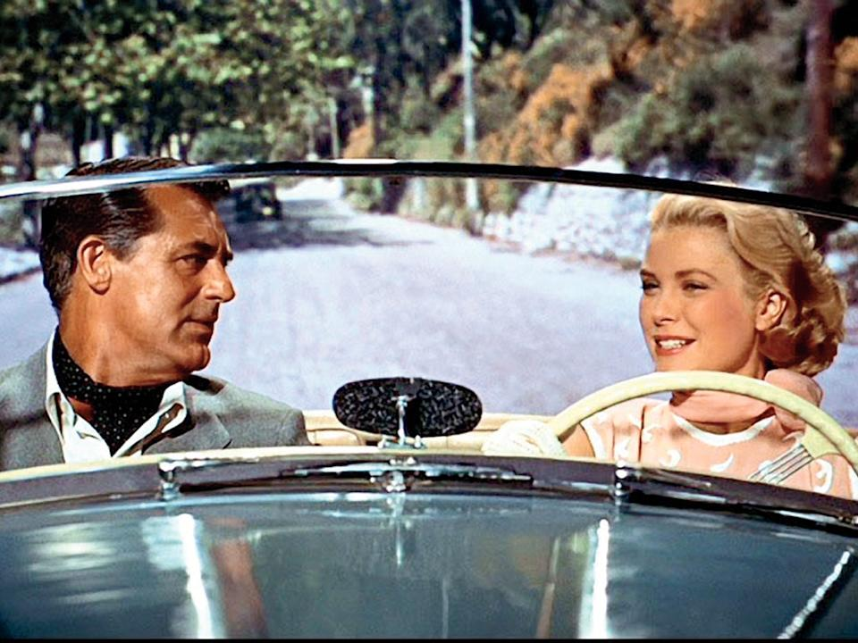 """Cary Grant and Grace Kelly costar in """"To Catch a Thief."""""""