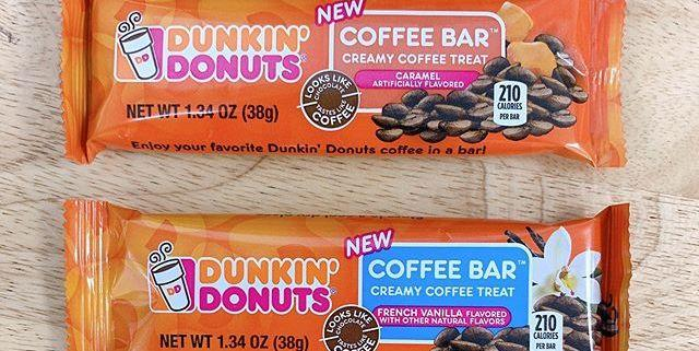 dunkin' is releasing candy bars that taste just like their