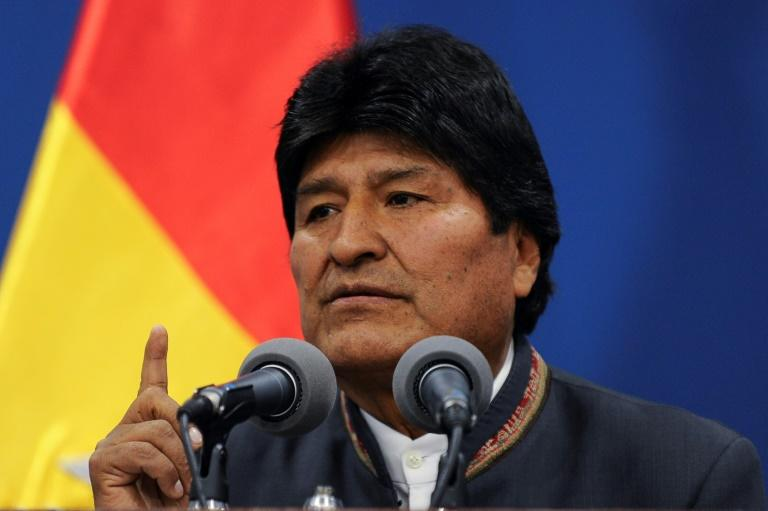 Bolivian President Evo Morales has accused his opponents of seeking bloodshed