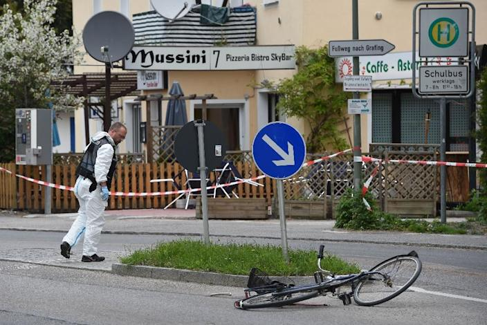 The knife attack occured 30 kilometres east of Munich, southern Germany, on May 10, 2016 (AFP Photo/Christof Stache)