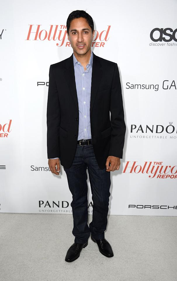 WEST HOLLYWOOD, CA - SEPTEMBER 19: Actor Danny Pudi arrives at The Hollywood Reporter's Emmy Party at Soho House on September 19, 2013 in West Hollywood, California. (Photo by Frazer Harrison/Getty Images)